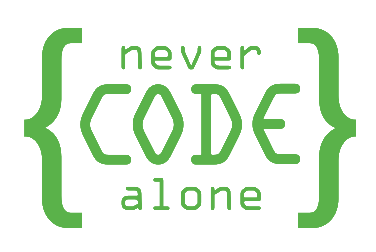 Never Code Alone Logo